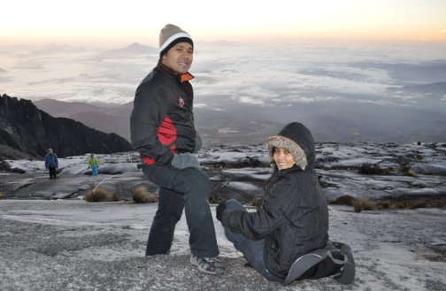 flip'n travels braved mount kinabalu